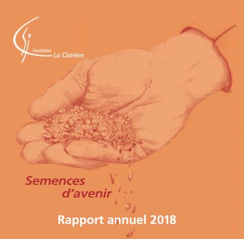 Notre rapport annuel 2018 est disponible :